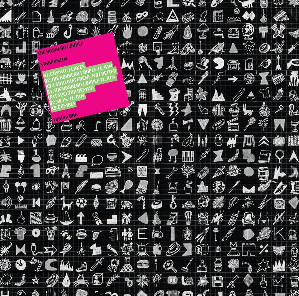 Strapontin, superchérie, i'm single record, ep, release, brussels, belgium, patrick belmont, tablon, pit sepctor remix, record, vinyl, patrick belmont