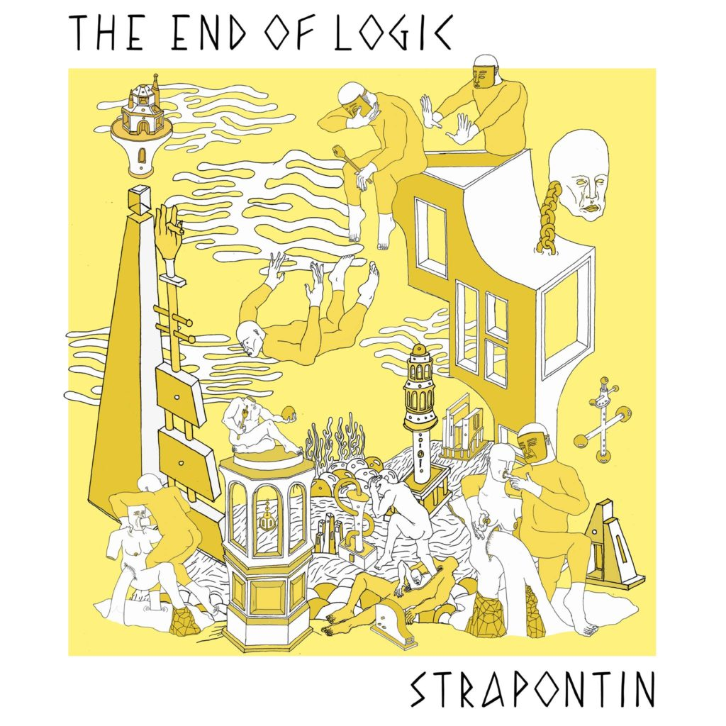 strapontin the end of logic nervous days hard fist record vinyl release including video game